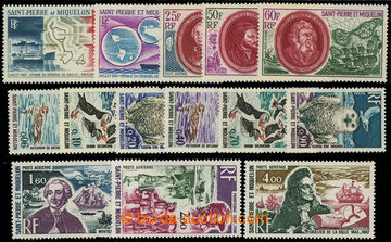 225897 - 1967-1973 Mi.418-121, 481-483, 484-488, 489-491, sestava kom