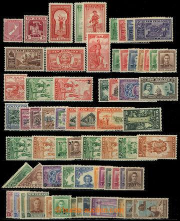 225922 - 1933-1947 SESTAVA / kompletních sérií a jednotlivých zn.