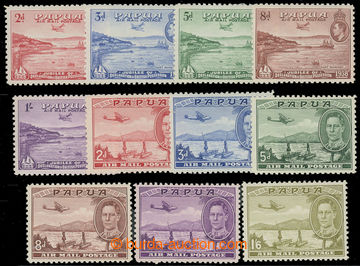 225923 - 1937-1938 SG.158-162, 163-167, 168, Jiří VI. Letecké 1938