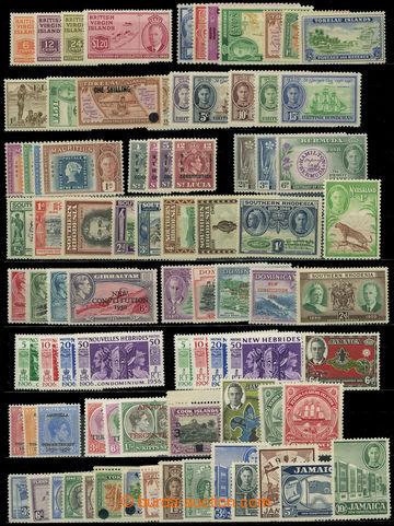 225925 - 1937-1952 SESTAVA / Jiří VI., partie kompletních sérií