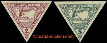 226043 - 1916 SPĚŠNÉ / TROJÚHELNÍK / ANK.217U-218U, 2h a 5h NEZO