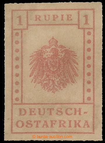 226092 - 1916 WUGA / Mi.V, Znak 1 Rupie šedočervená, vzácné miss