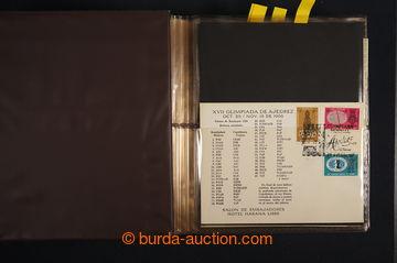 226122 - 1943-1990 [SBÍRKY]  ŠACHY / POLSKO, KUBA, SSSR  velká sb�
