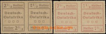 226166 - 1916 WUGA - missionářské provizorní vydání Mi.III a IV