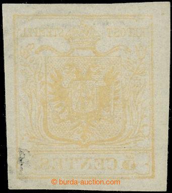 226203 - 1850 Ferch.1HI, Znak 5Cts okrově žlutá se strojovým obti