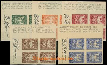 226215 - 1945 OLOMOUC / kompletní řada olomouckého vydání Orlice