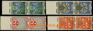 226287 - 1926 Mi.192B-195B, Znaky 2C+2C - 15C+3C ve svislých krajov�