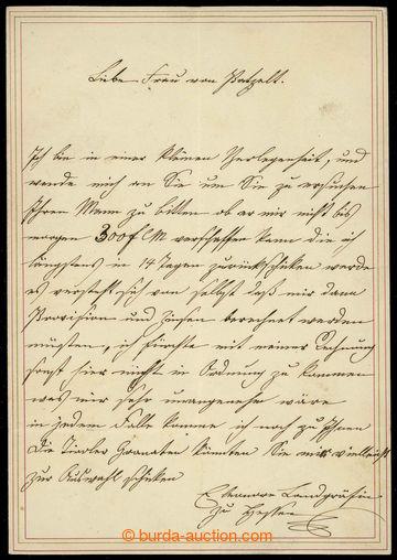 226340 - 1830? ELEONORA SALM-REIFFERSCHEIT KRAUTHEIM (1799-1851), hra