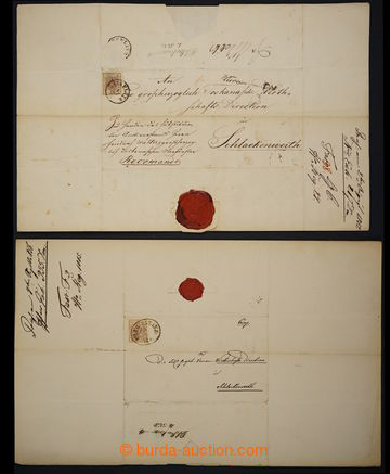 226347 - 1850-1880 [SBÍRKY]  partie více cca 80 dopisů s I. - VI.