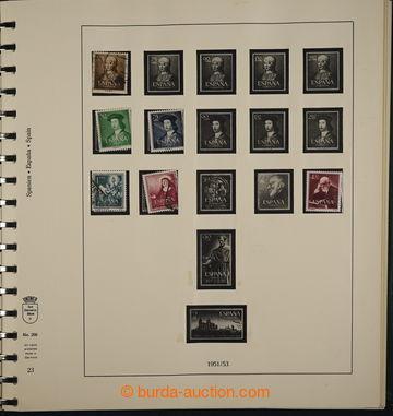 226377 - 1951-1976 [SBÍRKY]  značně kompletní sbírka na zasklen�