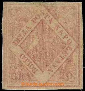 226404 - 1859 Sass.13, Znak 20Gr světle růžová (rosa chiaro); vel