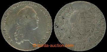 226416 - 1779 SASKO / 1 Tolar, Fridrich August I. Saský; I.E.C., Ag