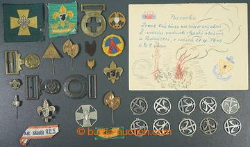 226417 -  SKAUT / JUNÁK /  sestava skautských a junáckých odznak�