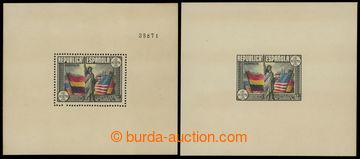 226481 - 1938 MI.Bl.3, Bl.3U, zoubkovaný a nezoubkovaný aršík (vy