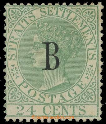 226503 - 1882 BRITSKÁ POŠTA - BANGKOK / SG.9, Straits Settlements V