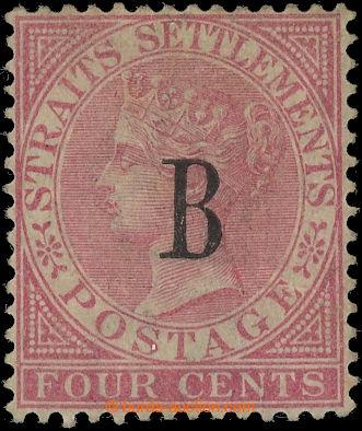 226505 - 1882 BRITSKÁ POŠTA - BANGKOK / SG.16, Straits Settlements