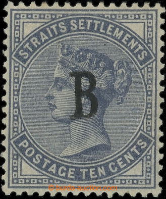 226506 - 1882 BRITSKÁ POŠTA - BANGKOK / SG.21, Straits Settlements