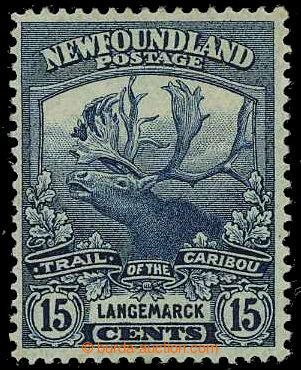 226560 - 1919 SG.139a, Karibu 15C Prussian blue; bezvadná kvalita, v