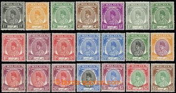226581 - 1951 SG.7-27, Radža Seyd Putra 1C-5$, luxusní kvalita, kat