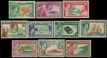 226596 - 1940 SG.1-8, Jiří VI.  - Motivy 1/2P-2Sh6P; bezvadná kval