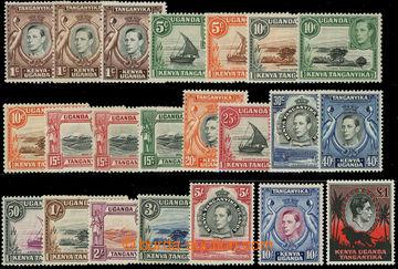 226602 - 1938 SG.131-150, Jiří VI. - Motivy 1C- 1£; bezvadná seri