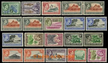 226608 - 1939 SG.60-72, Jiří VI. - Motivy 1/2P-10Sh, série s varia