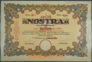 226625 - 1920-1923 ČSR / akcie Československé společnosti pro obc