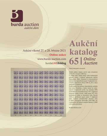 226663 - 2021 BURDA AUCTION s.r.o., catalogue jednodenní Aukce 65, c