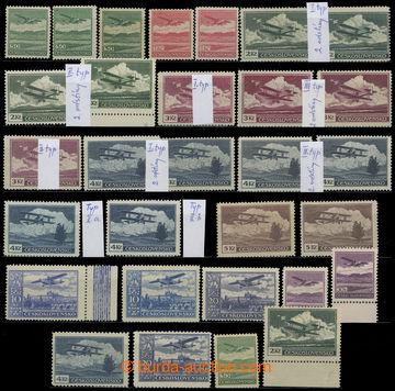 226701 - 1930 SESTAVA / Pof.L7-15, Definitivní vydání, kompletní