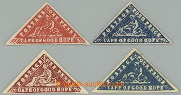 226764 - 1883-1941 NOVOTISKY / sestava 4 novotisků 1P a 4P v různý