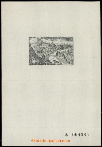 226787 - 1962 PT1, PRAGA 1962, tisk na ručním papíru, příloha v�