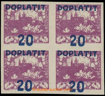 226848 - 1922 Pof.DL16m VV, Výpotřební Hradčany 20/3h se silně p