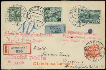 226913 - 1923 R+Let-dopis zaslaný do Německa, vyfr. zn. Pof.L4, 232