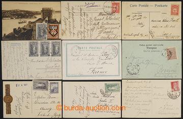 226921 - 1900-1945 SESTAVA / 16 pohlednic adresovaných převážně