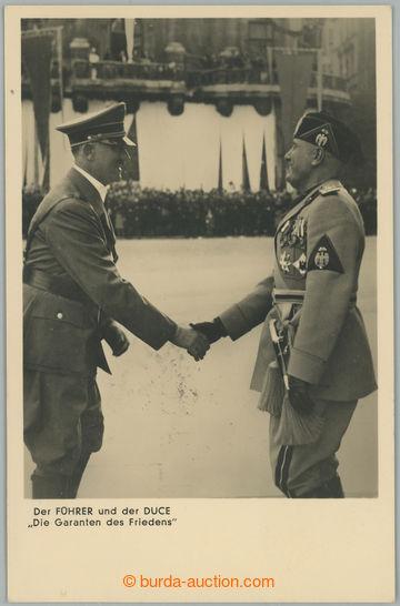 226962 - 1937 A. HITLER + B. MUSSOLINI, setkání v Berlíně, origin