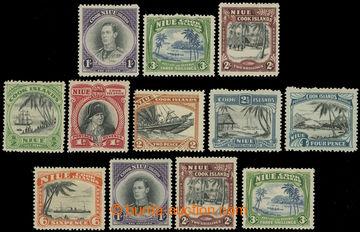 227268 - 1938-1946 SG.75-77, 89-97, George VI. and Landscape, set 193