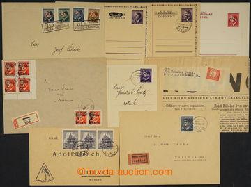 227392 - 1945 BOUZOV, BÍLÁ LHOTA, BECHYNĚ, SUDICE, ROVNOST / comp.