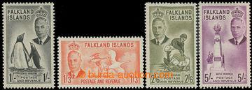 227406 - 1952 SG.180-183, Jiří VI. Motivy 1Sh - 5Sh; vyšší hodno