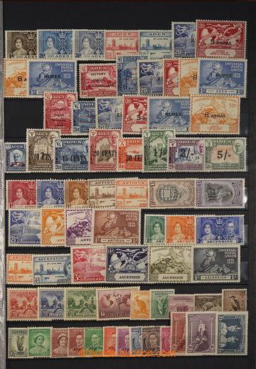 227478 - 1937-1945 [SBÍRKY]  COMMONWEALTH / JIŘÍ VI. / sbírka na