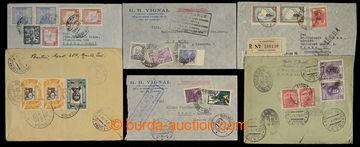 227520 - 1922-1937 ECUADOR, BRAZÍLIE, PERU, ARGENTINA / sestava 6 ce
