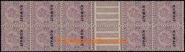 227677 - 1923 SG.4a, 10-blok s 2 meziaršími indické Jiří V. 2A r