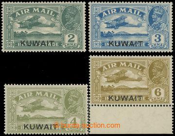 227745 - 1933 SG.31-34, indické letecké 2A-6A s přetiskem KUWAIT;