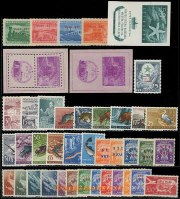 227831 - 1950-1954 ZÓNA B / SESTAVA / vybraných sérií a aršíků