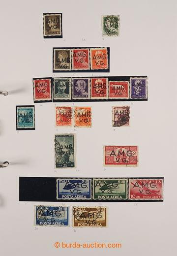 227837 - 1947-1954 [SBÍRKY]  ZÓNA A / značně kompletní sbírka n
