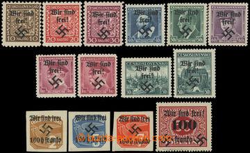 227851 - 1938 RUMBURG / Mi.2-3, 5, 6-8, 2x 9, 27II, 28, 29, 41, 51, 5