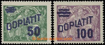 227885 - 1926 Pof.DL45B + DL47B, Výpotřební HaV 50/500h zelená +