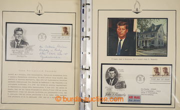 228128 - 1960-1970 [SBÍRKY]  J. F. KENNEDY / námětová sbírka ve