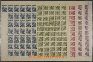 228199 - 1939-1941 ARCHOVINA / Pof.35, 30, 31, 61, Krajinky, Olomouc