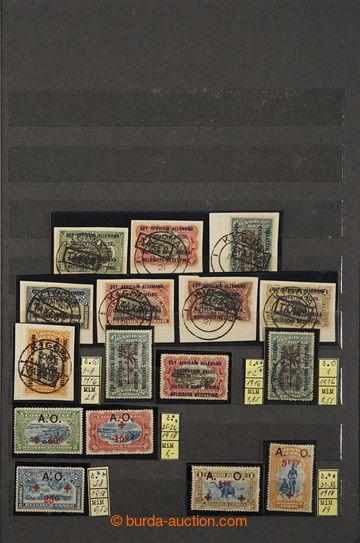 228342 - 1887-1960 [SBÍRKY]  BELGICKÉ KOLONIE / KONGO / RWANDA / me