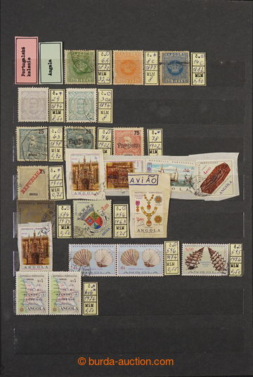 228387 - 1880-1990 [SBÍRKY]  PORTUGALSKÉ KOLONIE / menší sbírka